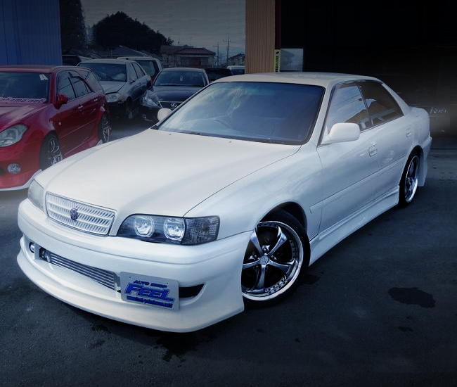 FRONT EXTERIOR JZX100 CHASER TORER-S WHITE