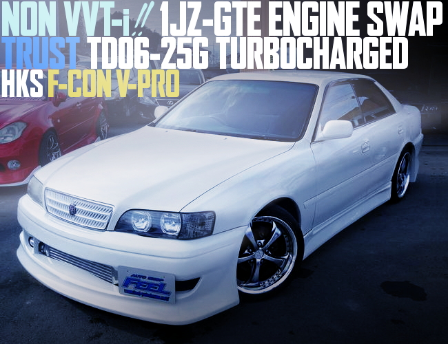 NON VVTi 1JZ TURBO SWAP JZX100 CHASER