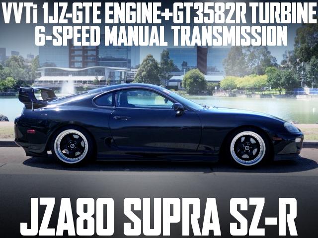 1JZVVTi TURBO JZA80 SUPRA SZ-R