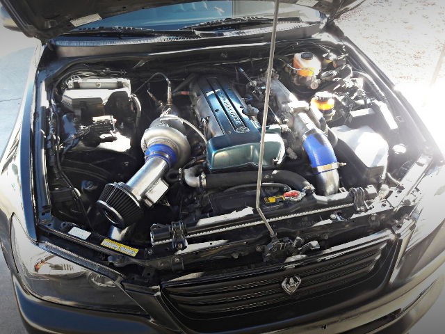 2JZ-GTE ENGINE WITH CX-RACING TURBO KIT