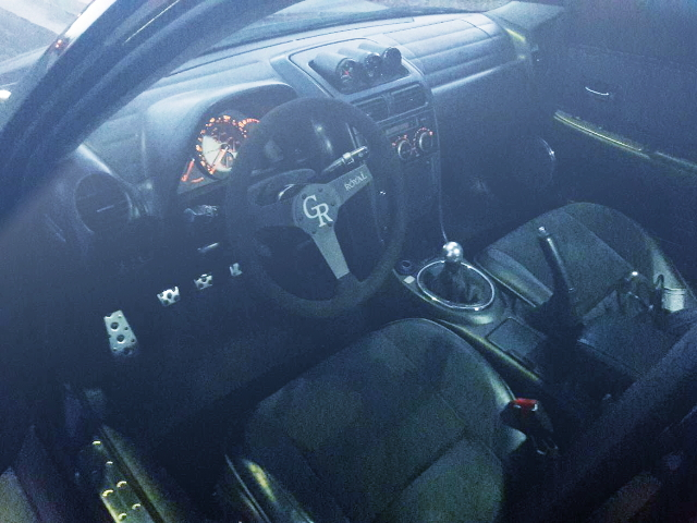 INTERIOR FROM LEXUS IS300