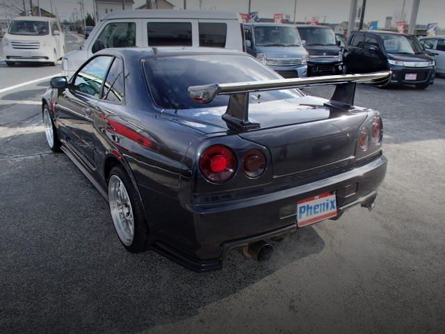 REAR EXTERIOR R34 SKYLINE GT-R Z-TUNE SPEC