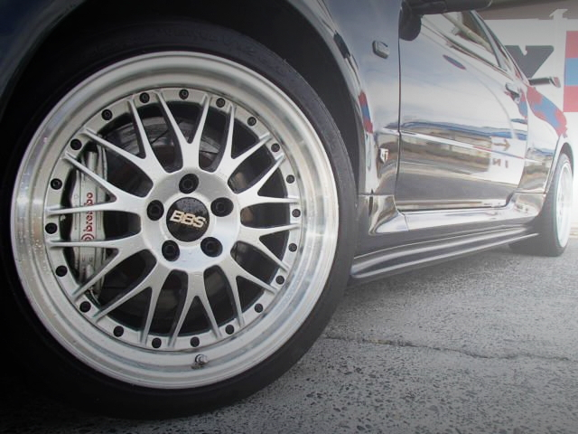 BBS WHEEL AND BRAMBO BRAKE