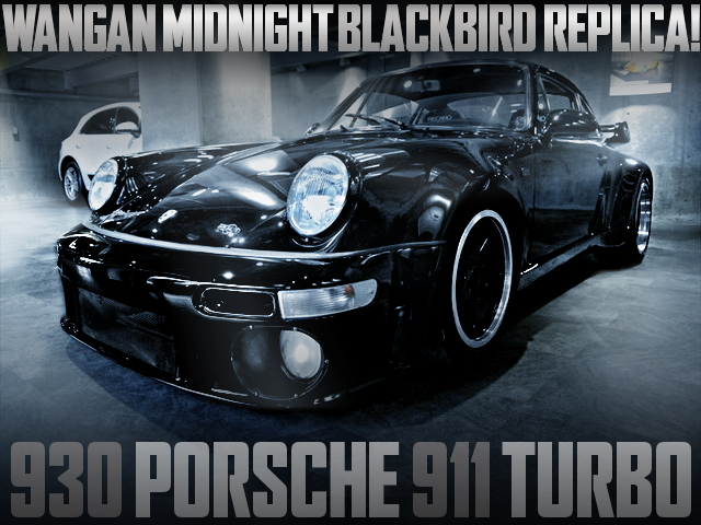 MIDNIGHT BLACKBIRD REPLICA PORSCHE 911 TURBO