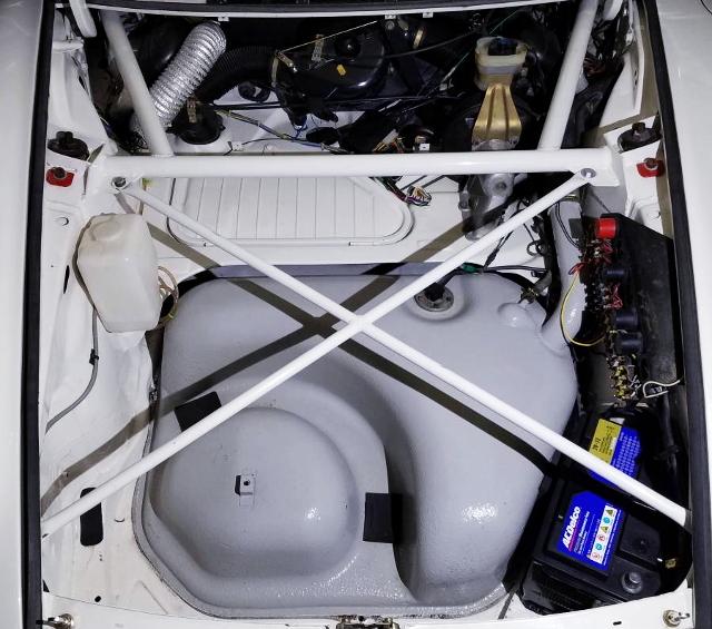 FRONT BONNET OF 930 PORSCHE 911