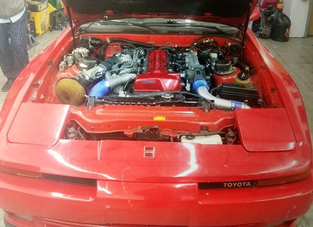 2JZ VVTi 3000cc TWINTURBO ENGINE