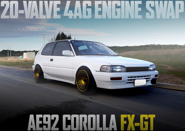 20-VALVE 4AG SWAP AE92 COROLLA FX-GT