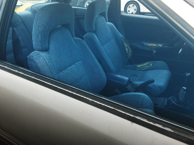 BLUE INTERIOR FROM AE92 COROLLA