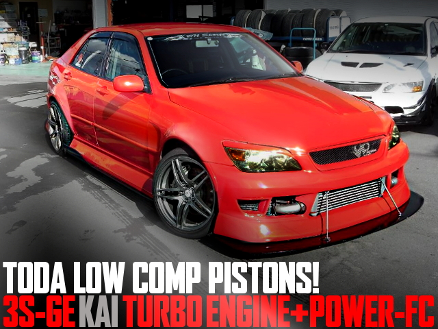 TODA RACING PISTONS TURBO SXE10 ALTEZZA