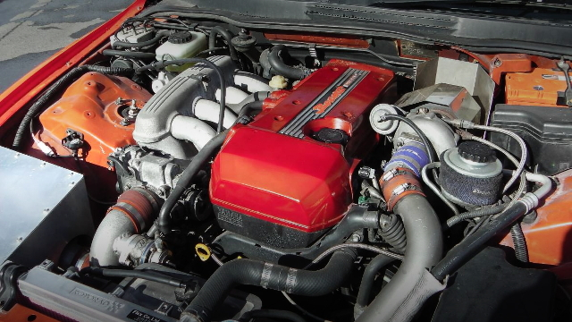 3S-GE ENGINE WITH TURBOCHARGER