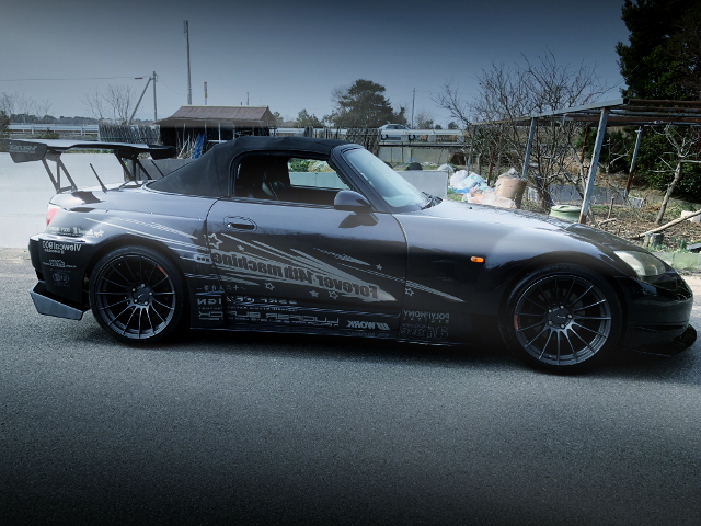 RIGHT EXTERIOR AMUSE GT1 WIDEBODY S2000 BLACK