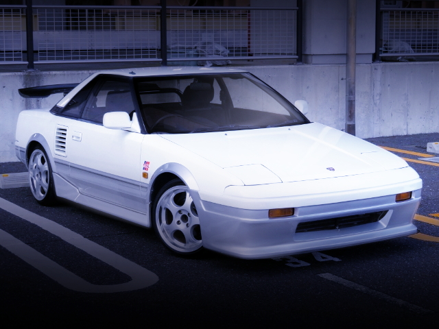 FRONT EXTERIOR AW11 MR2 G-LIMITED