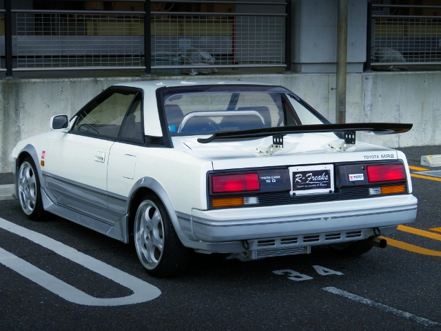 REAR EXTERIOR AW11 MR2 G-LIMITED