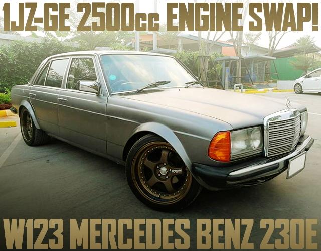 1JZ-GE SWAP W123 BENZ 230E