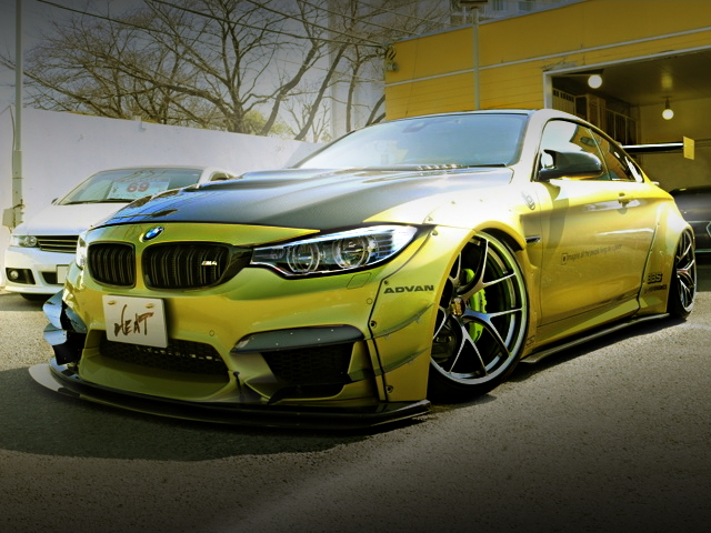FRONT EXTERIOR LB-WORKS BMW M4