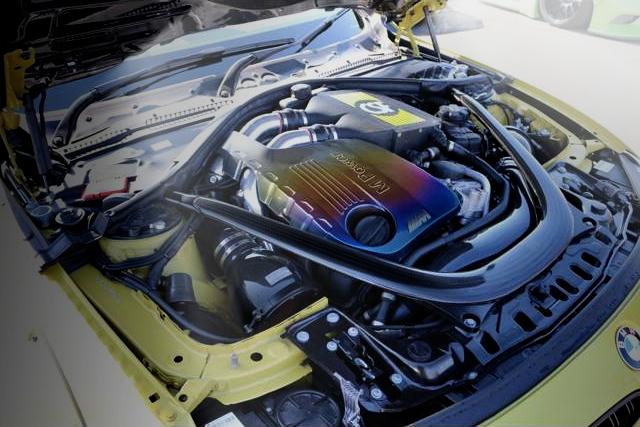 BMW M4 ENGINE ROOM