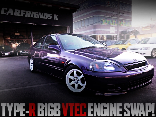 B16B VTEC ENGINE 2nd GEN CIVIC COUPE