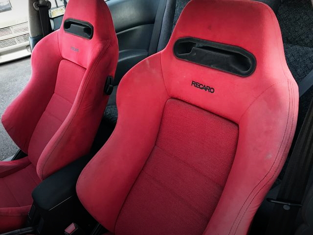 RECARO RED BUCKET SEAT