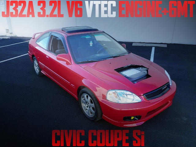 J32A V6 SWAP EM CIVIC COUPE
