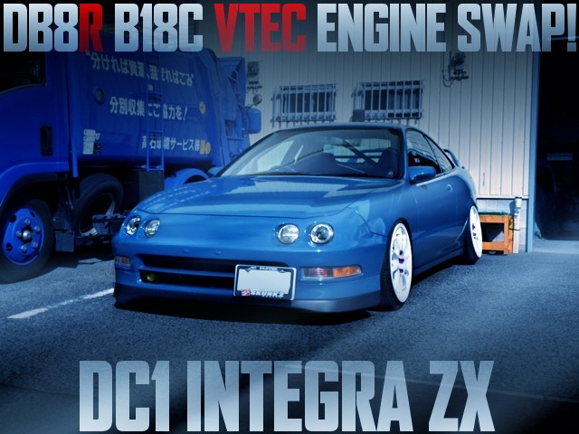 B18C SWAP DC1 INTEGRA ZX