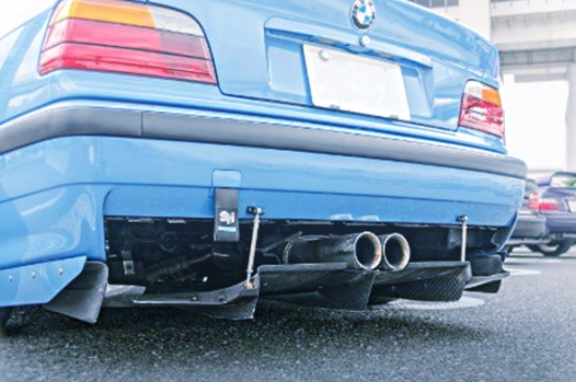 REAR CENTER EXHAUST MUFLLER
