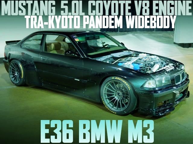PANDEM WIDE E36 BMW M3 COYOTE V8