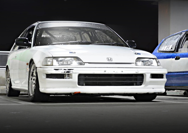 FRONT FACE EF9 CIVIC