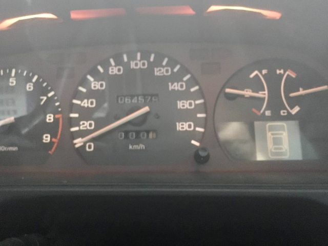 EF9 CIVIC OF SPEED CLUSTER