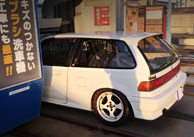 REAR EXTERIOR EF9 CIVIC KANJO SPEC