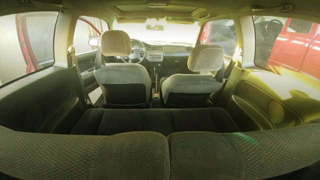 REAR INTERIOR EG CIVIC