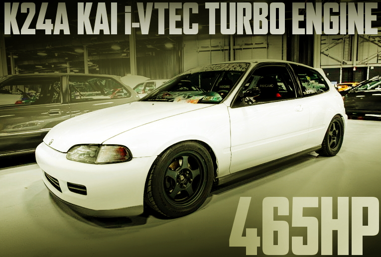 K24A iVTEC TURBO EG CIVIC HATCH