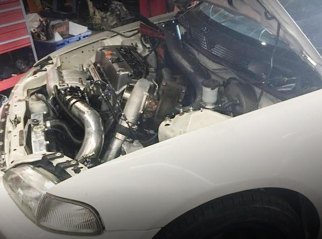 EG CIVIC ENGINE ROOM