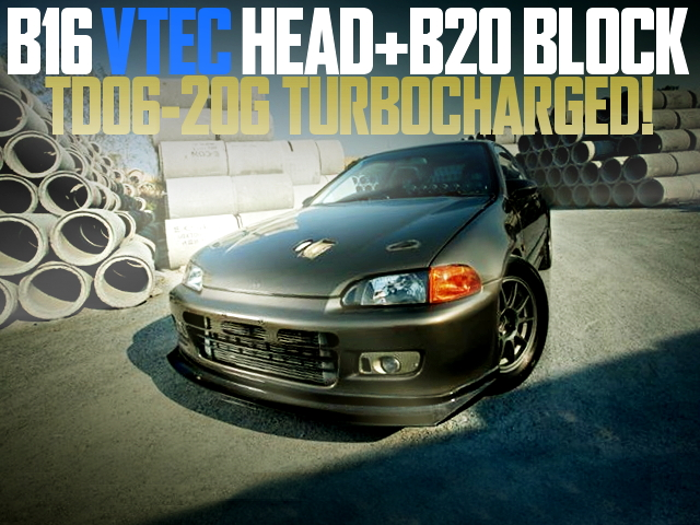 B20 VTEC TURBO EG CIVIC