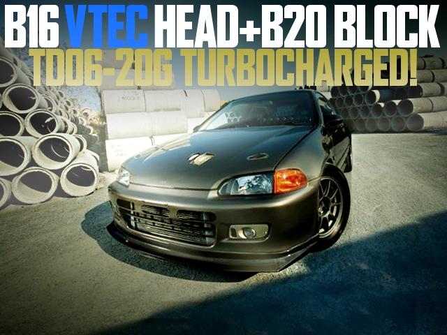 B20 VTEC TURBO EG CIVIC