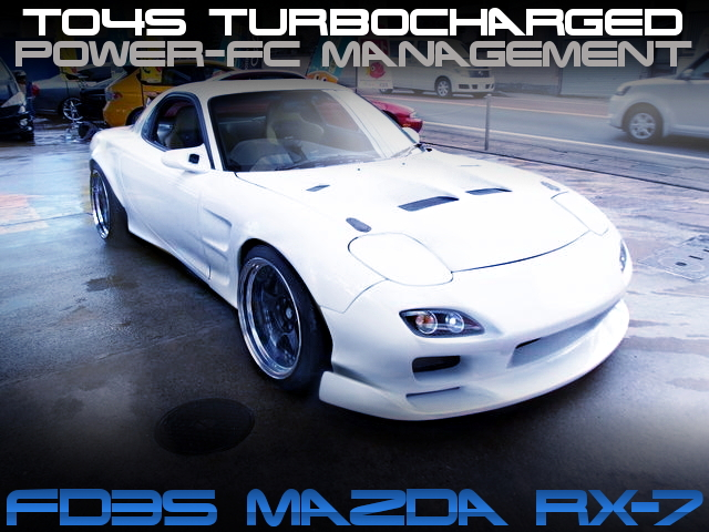 TO4S TURBOCHARGED FD3S RX7