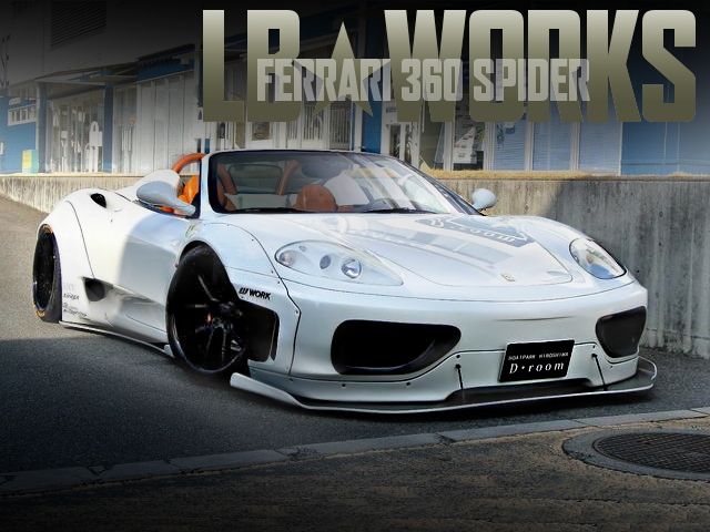 LB-WORKS FERRARI 360 SPIDER