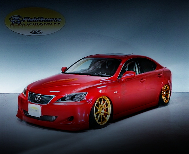 FRONT EXTERIOR GSE21 LEXUS IS350 RED