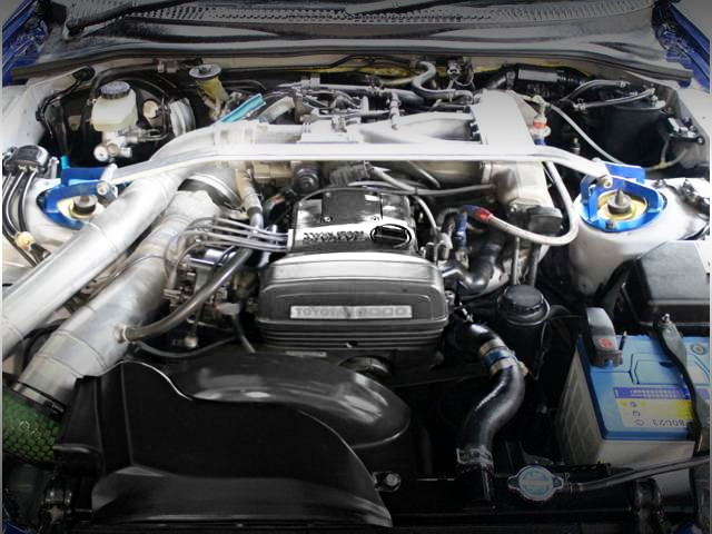 2JZ-GE ENGINE WITH TURBOCHARGER