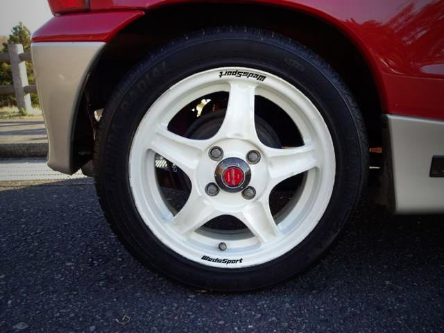 WEDS SPORT WHEEL WHITE