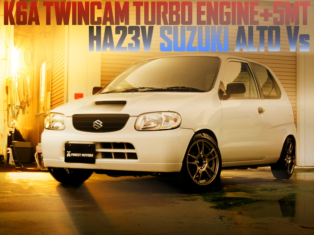 HA23V ALTO VS K6A TURBO SWAP