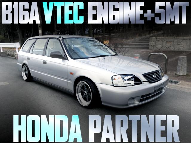 B16A VTEC HONDA PARTNER