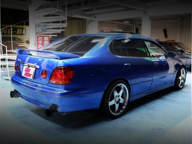REAR EXTERIOR JZS161 ARISTO V300 BLUE