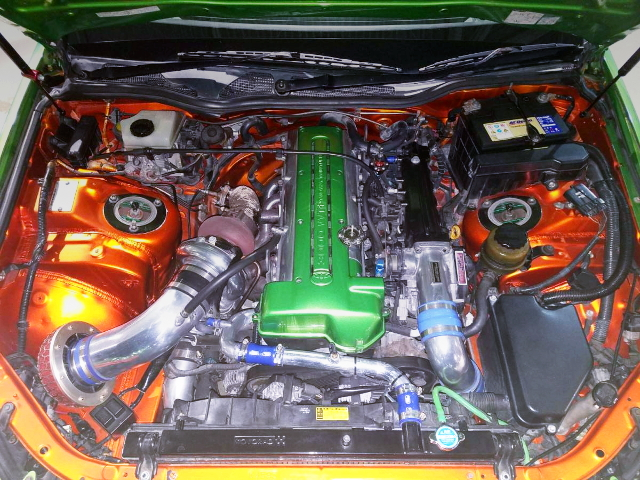 2JZ-GTE ENGINE ROOM CUSTOM
