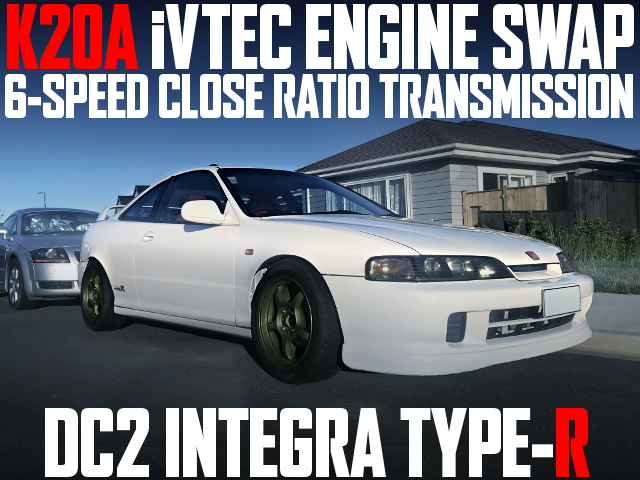 K20A IVTEC 6-SPEED CLOSE RATIO DC2R