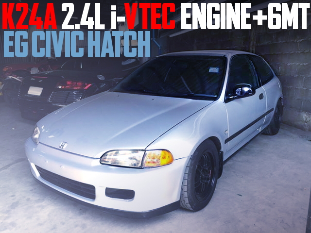 K24A iVTEC SWAP EG CIVIC HATCH