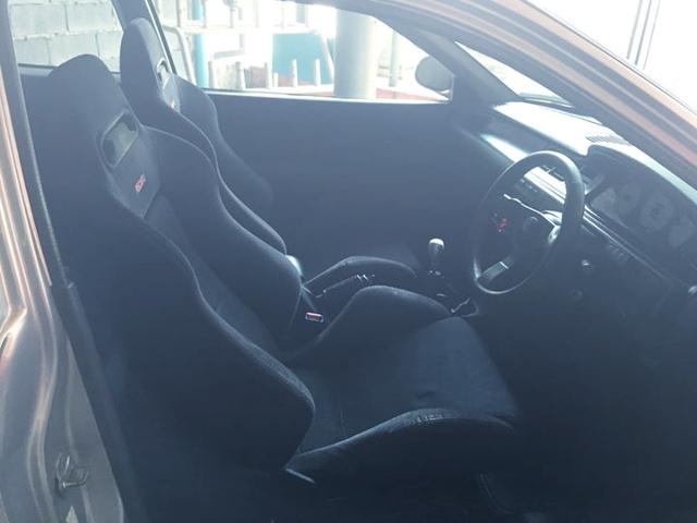 INTERIOR RECARO SR3 SEATS
