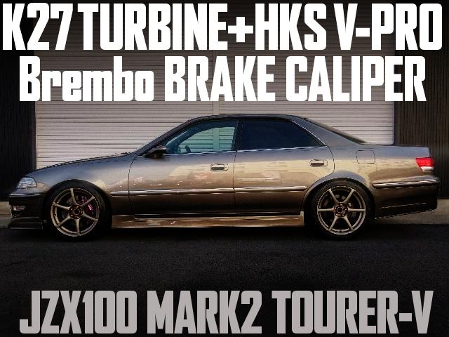K27 TURBINE JZX100 MARK2