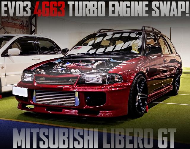 EVO3 4G63T SWAP MITSUBISHI LIBERO GT