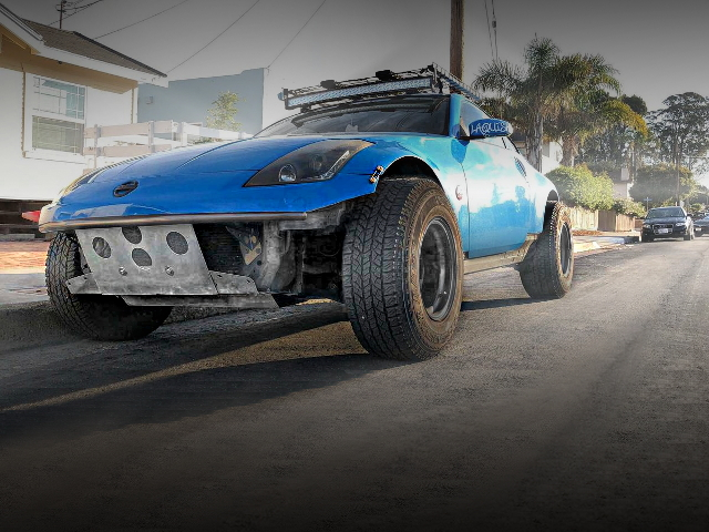 FRONT EXTERIOR Z33 350Z BLUE