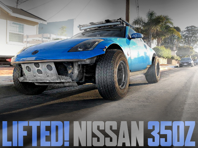 LIFTED OF Z33 NISSAN 350Z